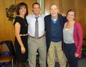 Tom Palecek and family